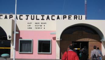 Juliaca airport - 3,825m!