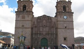 Cathedral in Puno