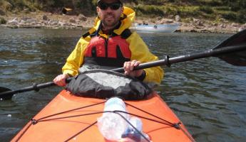 Kayaking at Llachon - Lake Titicaca