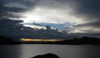 Looking towards Bolivia! - Lake Titicaca