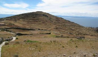 Pachatata (Father Earth) Amantani Island - Lake Titicaca