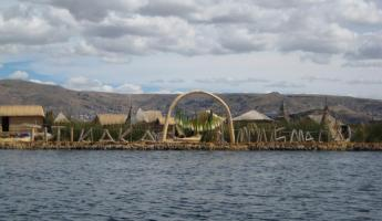 Uros floating Islands - Lake Titicaca