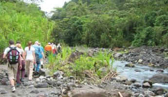 Arenal Volcano hike on Costa Rica tour
