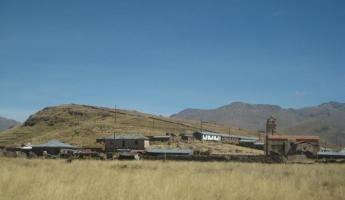Countryside outside of Puno