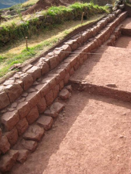 "Archeological work at Huchuy Qusqo (""Little Cusco"")"