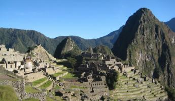 Classic Machu Picchu shot from the guard station