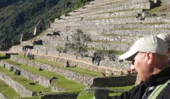 Juan Barrios, best Adventure Life guide!  - Machu Picchu
