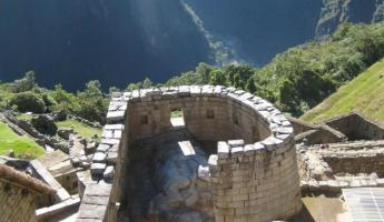 Temple of the Sun - Machu Picchu