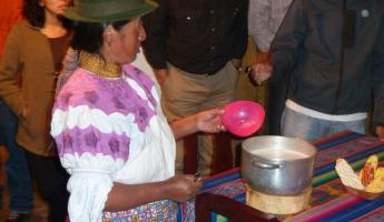 Traditional Ecuadorian cooking in Quito