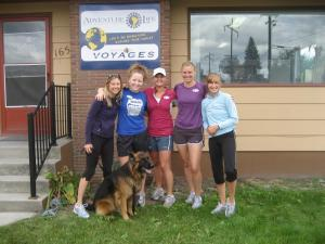 Adventure Life celebrates national Run@Work day with a great jog through Missoula