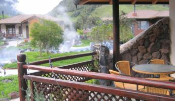 Papallacta Hot Springs offers cabañas with private thermal pools and is a relaxing stop on an Ecuador tour