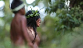The locals at the Huaorani Community