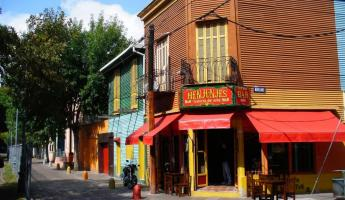 Wandering the colorful streets of Buenos Aires