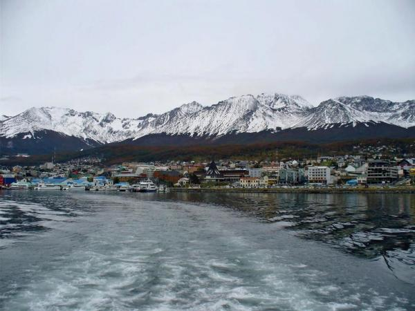 Leaving Ushuaia behind