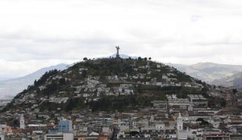 overlooking Quito\'s Old Town