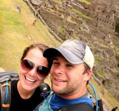 Finally at Machu Picchu