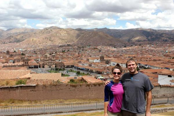 this girl & that guy in Cusco