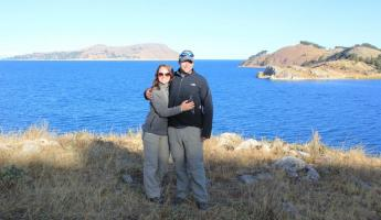 Taking it all in along Lake Titicaca