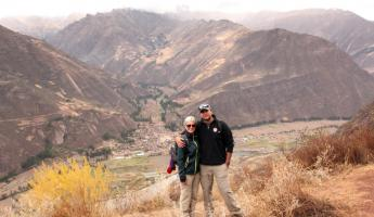 hiking to the Sacred Valley.