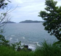 Driving along the Costa Rica coastline