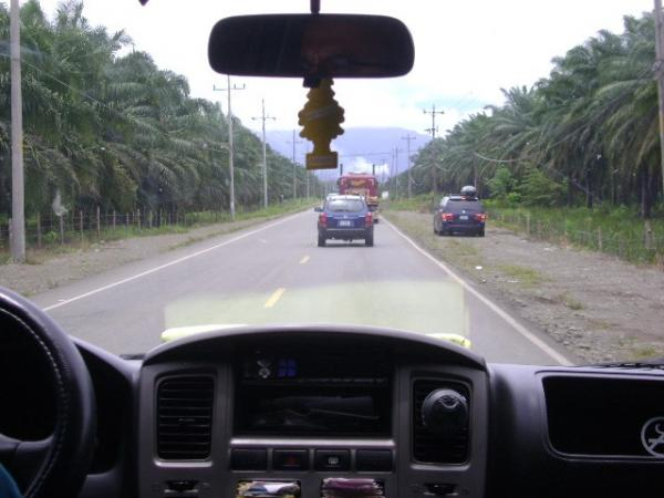 Highway in Costa Rica