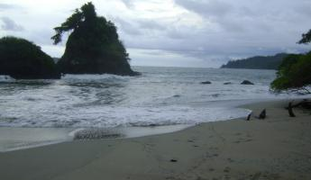 view of manuel antonio beach
