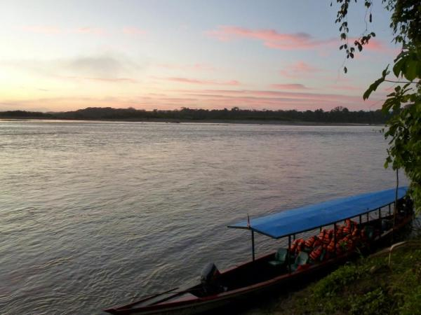 Sunrise on the Madre de Dios