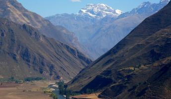 a sacred view in the Sacred Valley