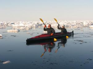 Kayaking - Arctic Kingdom.