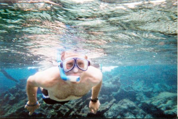 Snorkeling during a Belize vacation