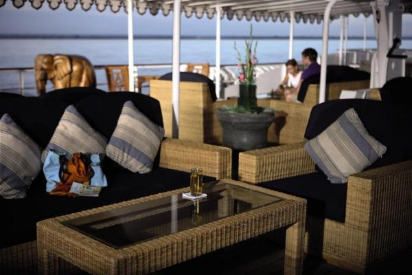 Enjoy your river cruise aboard the Road to Mandalay
