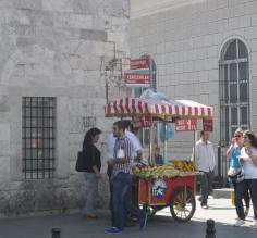 Street food in Istanbul