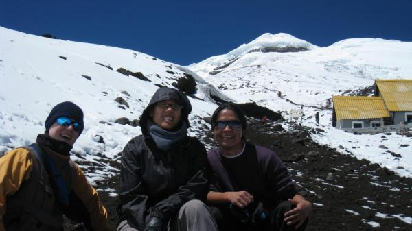 Hiking Cotopaxi Mountain with Santiago