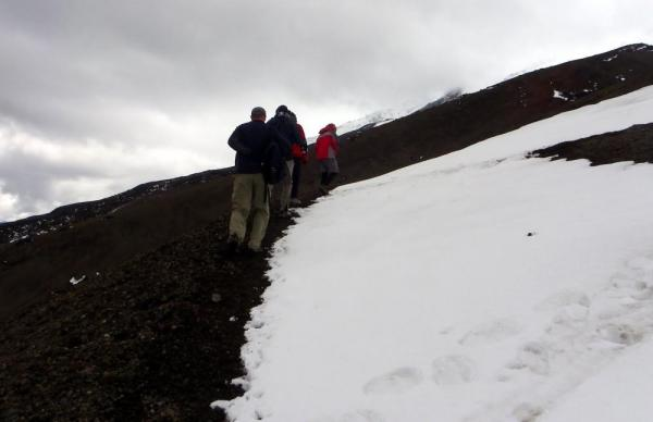Exploring the area around Cotopaxi