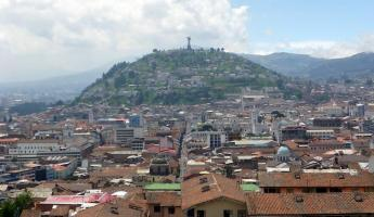 Exploring the city of Quito