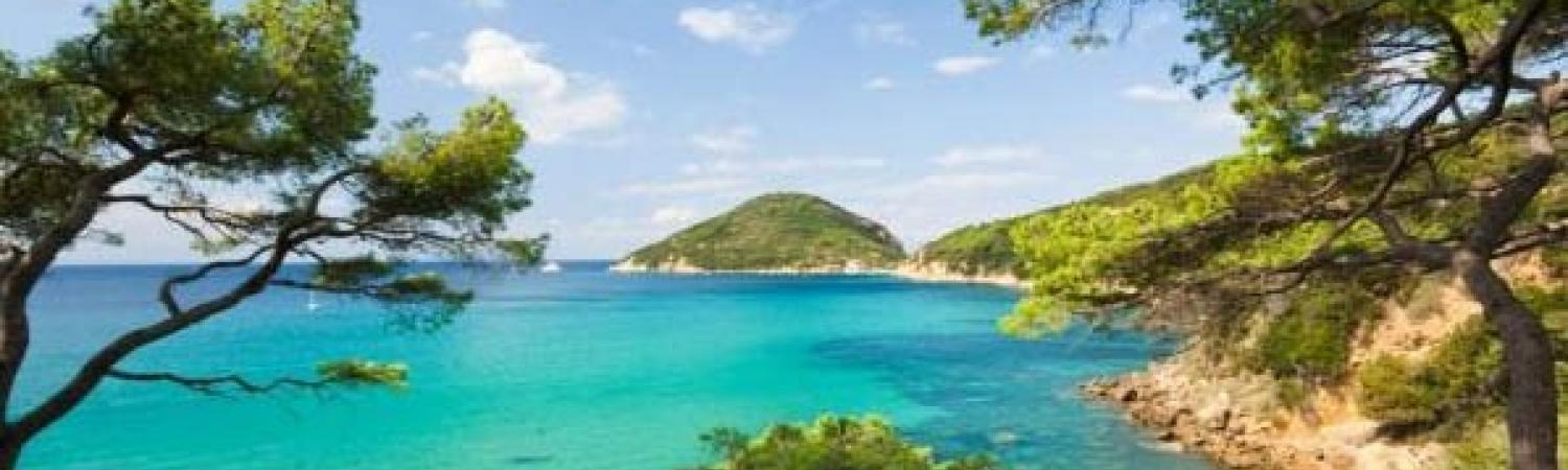Beautiful Elba Island, once home to the exiled Napoleon Bonaparte