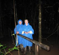 Night walk at TRC.  You cant believe how many things your guides can find in the dark!