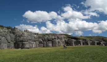 The zigzag walls of Sacsayhuaman (Sexy Woman), the fortress protecting Cusco.