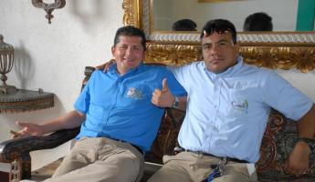 Our guide Roberto and driver Sergio