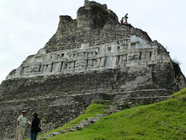 Tour of the Maya ruins at Xunantunich