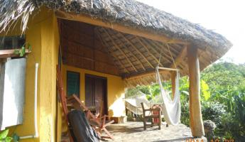 Our cabin at Totoco