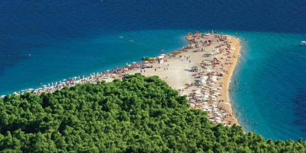 Enjoy a swim stop at Brac Island
