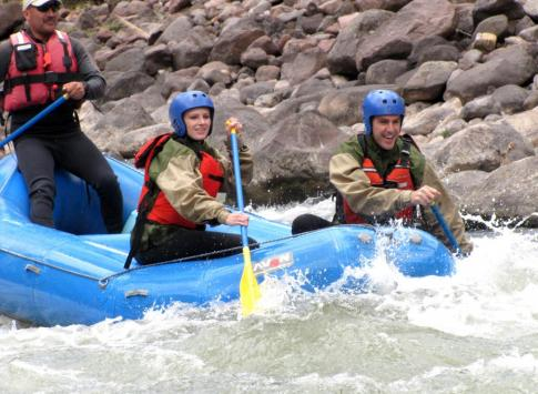 Urubamba River - whitewater rafting
