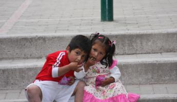 Kids - Aguas Calientes, Peru