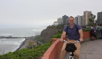 Andrew - Biking around Lima