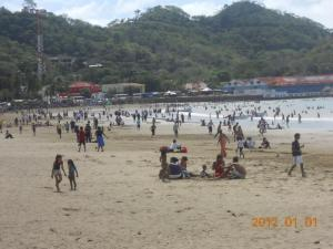 San Juan del Sur New Years Day