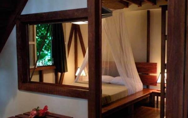 Rest well after a day of adventure in your bungalow at Namuwoki Lodge