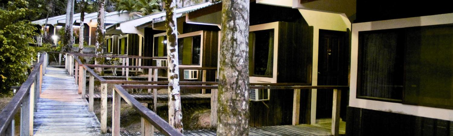 Ceiba Tops Lodge offers all the comforts of home