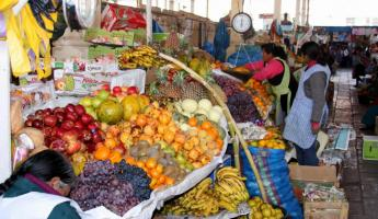 Local fruit at Cusco Market