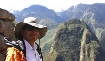 Our Guide Marco at Machu Picchu